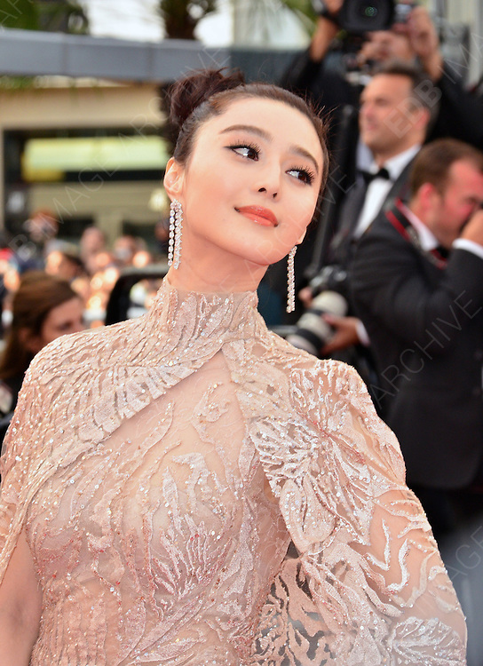 17.MAY.2012. CANNES<br /> <br /> FAN BINGBING ATTENDS THE PREMIERE OF ROUILLE ET DOS AT THE PALAIS DE FESTIVAL IN CANNES DURING THE 65TH CANNES FILM FESTIVAL<br /> <br /> BYLINE: JO ALVAREZ/EDBIMAGEARCHIVE.COM<br /> <br /> *THIS IMAGE IS STRICTLY FOR UK NEWSPAPERS AND MAGAZINES ONLY*<br /> *FOR WORLD WIDE SALES AND WEB USE PLEASE CONTACT EDBIMAGEARCHIVE - 0208 954 5968*