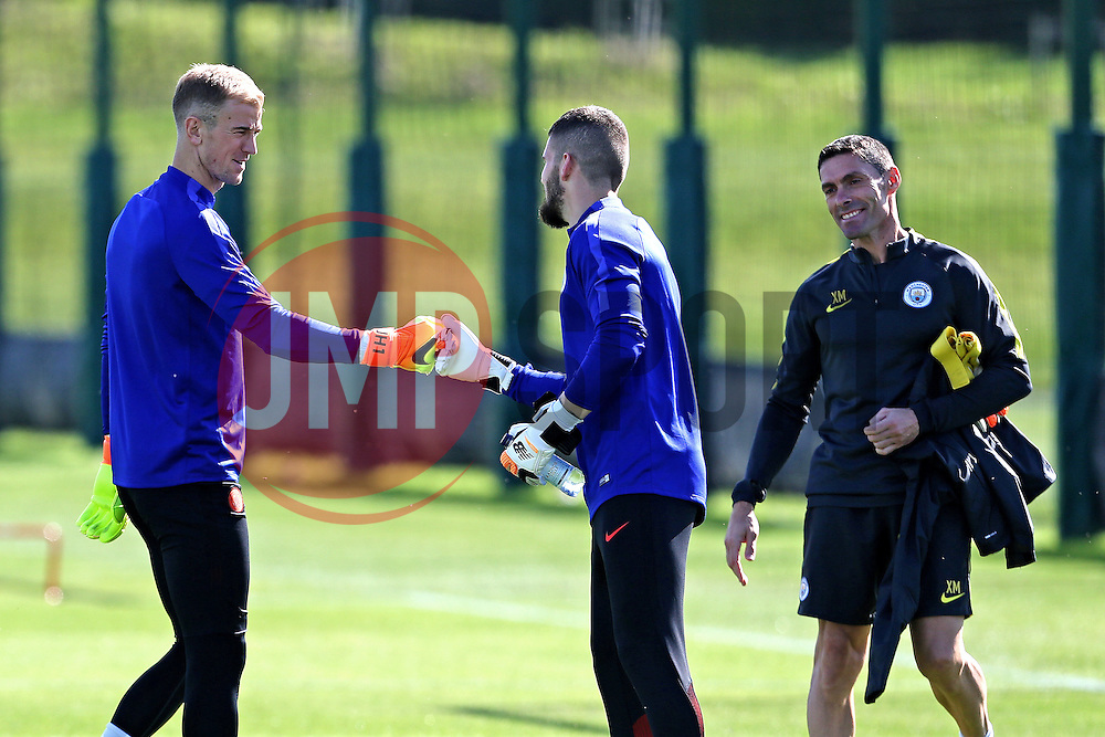 Joe Hart of Manchester City  - Mandatory by-line: Matt McNulty/JMP - 23/08/2016 - FOOTBALL - Manchester City - Training session ahead of Champions League qualifier against Steaua Bucharest