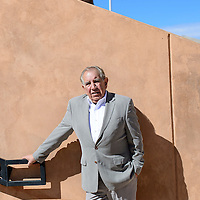 020114       Cayla Nimmo<br /> <br /> Former Mayor George Galanis poses outside the McKinley  Courthouse Monday afternoon.