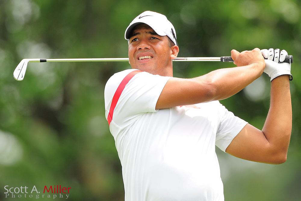 Jhonattan Vegas during the final round of the AT&T National at Congressional Country Club on July 1, 2012 in Bethesda, Maryland. ..©2012 Scott A. Miller