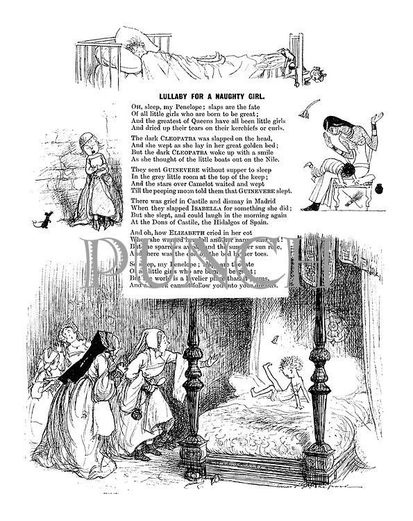 Lullaby for a Naughty Girl (illustrated poem)