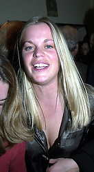 LADY LUCINDA SAVILE at a party in London on 30th March 2000.OCL 44<br /> © Desmond O'Neill Features:- 020 8971 9600<br />    10 Victoria Mews, London.  SW18 3PY<br /> photos@donfeatures.com  www.donfeatures.com<br /> MINIMUM REPRODUCTION FEE AS AGREED.<br /> PHOTOGRAPH BY DOMINIC O'NEILL