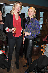 Left to right, NATASHA CUBITT and ISABELLE MACPHERSON at a ladies lunch hosted by Thomasina Miers at her restaurant Wahaca, 19-23 Charlotte Street, London W1 on 17th January 2013.