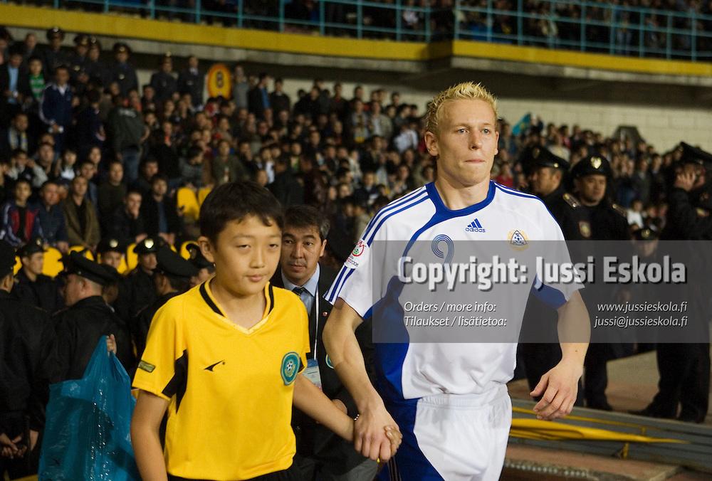 Mikael Forssell.&amp;#xA;Kazakstan-Suomi, A-maaottelu, EM-karsintaa. Almaty, Kazakstan 11.10.2006.&amp;#xA;Photo: Jussi Eskola<br />