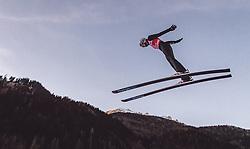11.01.2019, Stadio del Salto, Predazzo, ITA, FIS Weltcup Skisprung, Val di Fiemme, Herren, Training, im Bild Halvor Egner Granerud (NOR) // Halvor Egner Granerud of Norway during the training jump of men's FIS Skijumping World Cup at the Stadio del Salto in Predazzo, Itali on 2019/01/11. EXPA Pictures © 2019, PhotoCredit: EXPA/ JFK