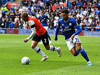Football - 2019 / 2020 Sky Bet (EFL) Championship - Cardiff City vs. Luton Town<br /> <br /> Josh Murphy of Cardiff City  on the attack , at Cardiff City Stadium.<br /> <br /> COLORSPORT/WINSTON BYNORTH