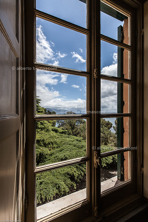 Italy, Rapallo, Fra' Robert Matthew Festing OBE (born 30 November 1949) is an English religious figure, friar, and the 79th Prince and Grand Master of the Sovereign Military Order of Malta. view from the guest bedroom