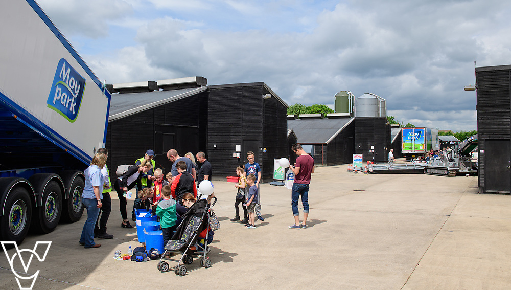 As part of Open Farm Sunday, May Park's Barr Farm in Billinghay, Lincolnshire, was open to the public.  General view of the event at Barr Farm, Billinghay<br /> <br /> PIcture: Chris Vaughan Photography<br /> Date: May 21, 2017