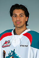 (KELOWNA, Canada - September 3, 2018): Kelowna Rockets head shots