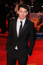 Jeremy Irvine attends the UK premiere of War Horse at Odeon Leicester Square, London, Sunday January 8, 2012. Photo By i-Images..