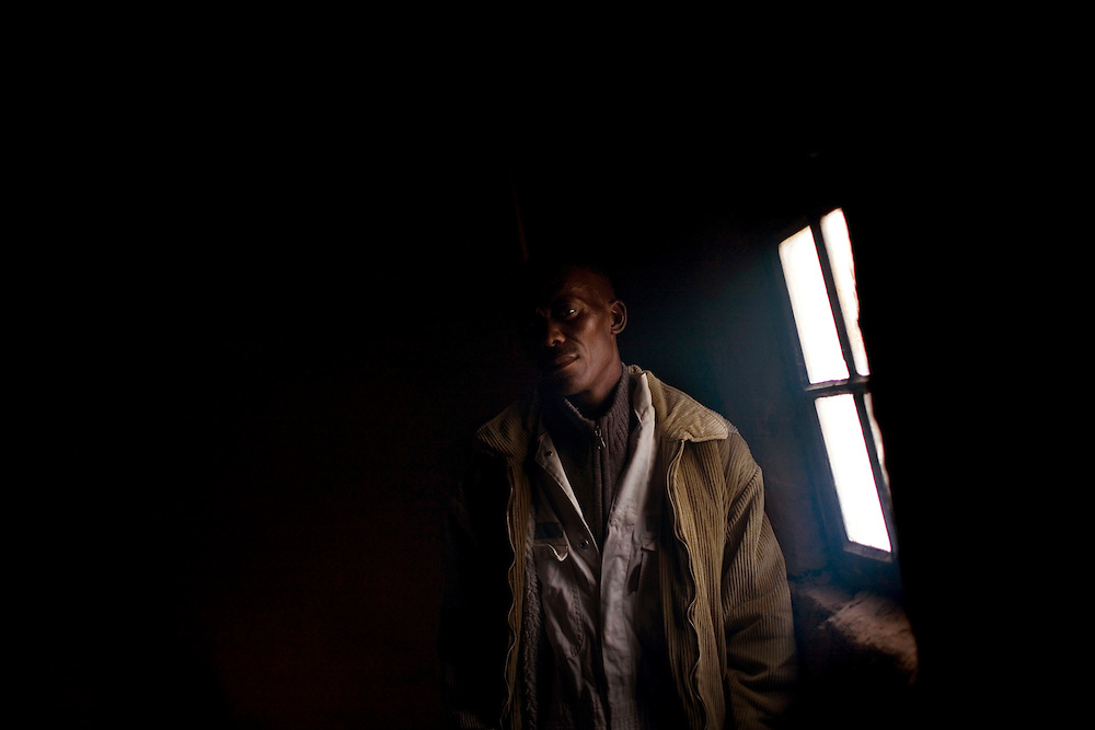 South African Gold miners are particularly vulnerable to contracting TB because of the small, poorly ventilated work conditions, high rates of TB and high rates of silicosis, a lung disease often found in miners that increases the chance of catching TB.