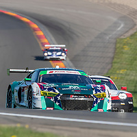 The Montaplast by Land-Motorsport car practice for the Sahlen's Six Hours At The Glen at Watkins Glen International Raceway in Watkins Glen, New York.