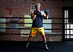 June 9, 2015 - Los Angeles, California, U.S. - DOLPH LUNDGREN Swedish actor, director, screenwriter, producer, and martial artist, works out in a gym. (Credit Image: © Brian Lowe/ZUMA Wire/ZUMAPRESS.com)