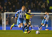 Brighton midfielder Steve Sidwell (36) during the Sky Bet Championship match between Brighton and Hove Albion and Sheffield Wednesday at the American Express Community Stadium, Brighton and Hove, England on 8 March 2016. Photo by Adam Rivers.