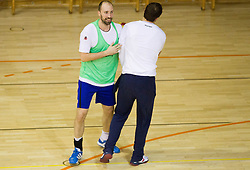 Vid Kavtcnik during the Training Camp before IHF Men's Handball World Championship Spain 2013 on January 9, 2013 in Zrece, Slovenia. (Photo By Vid Ponikvar / Sportida.com)