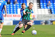 Donal McDermott during the Sky Bet League 1 match between Peterborough United and Rochdale at London Road, Peterborough, England on 9 April 2016. Photo by Daniel Youngs.