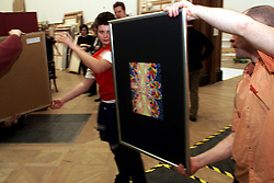 Royal Academy of Arts summer exhibition, selection begins for the summer exhibition, UK, April 19, 2000. Photo by Andrew Parsons / i-images..
