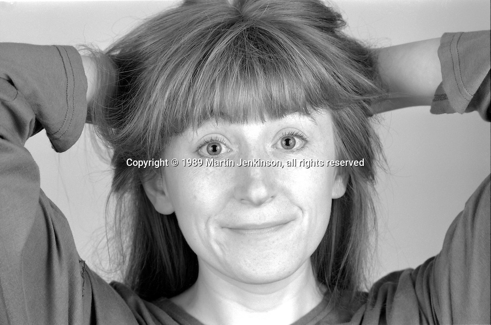 Linda Smith, Sheffield Popular Productions. 07-06-1989.