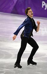 February 17, 2018 - Gangneung, South Korea - DENISS VASILJEVS of China during Figure Skating: Men Single Skating Free Skating at Gangneung Ice Arena during the 2018 Pyeongchang Winter Olympic Games. (Credit Image: © Scott Mc Kiernan via ZUMA Wire)