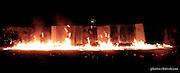 Creation d' Essat le nouveau spectacle de feu de la compagnie bizontine La Salamandre  a Besançon à l occasion de son 22eme anniversaire.