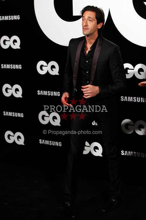 MADRID, SPAIN - Monday, November 19, 2012: Adrien Brody attends GQ Men of the Year 2012 Awards at at the Westin Palace Hotel. (Pic by Caro Marin/AlterPhotos/Propaganda)