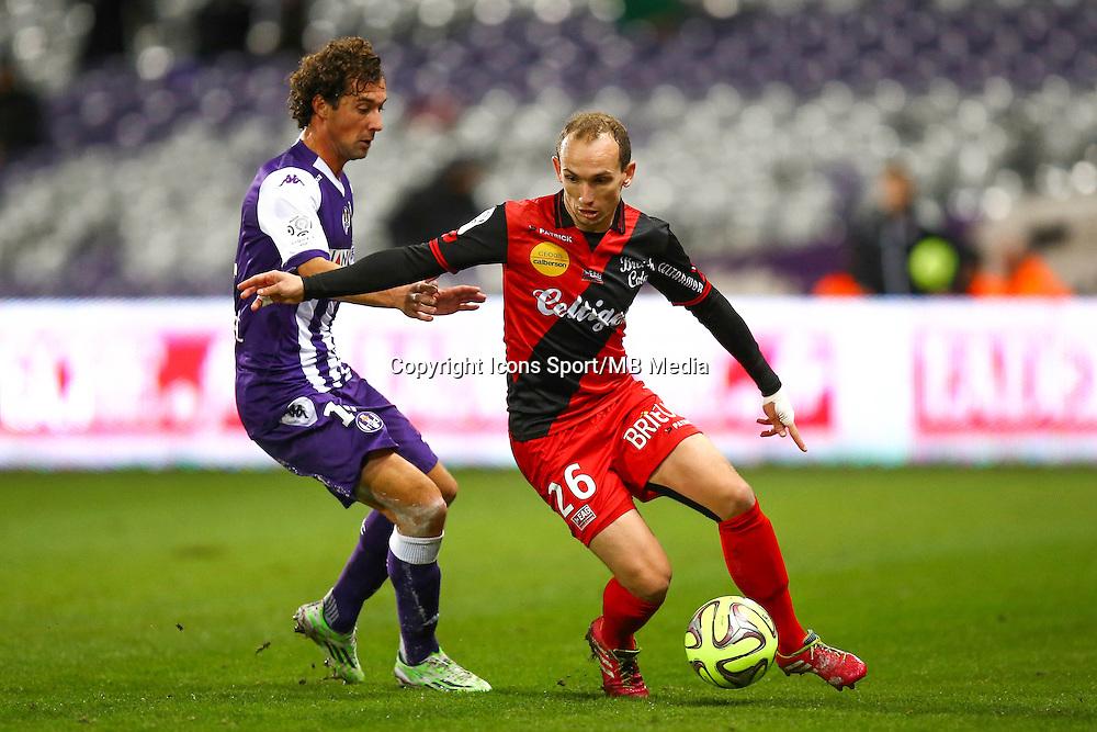 Thibault Giresse - 20.12.2014 - Toulouse / Guingamp - 1eme journee de Ligue 1 <br /> Photo : Manuel Blondeau / Icon Sport