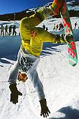 Freestyle snowboarden