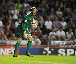 Bristol Rovers' Steve Mildenhall  - Photo mandatory by-line: Joe Meredith/JMP - Tel: Mobile: 07966 386802 04/09/2013 - SPORT - FOOTBALL -  Ashton Gate - Bristol - Bristol City V Bristol Rovers - Johnstone Paint Trophy - First Round - Bristol Derby
