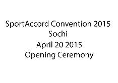 20150420 SAC2015 - Opening Ceremony
