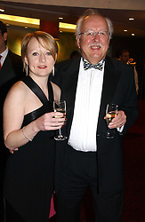 MICHAEL FISH the weather forcaster and his daughter ALISON FISH at the 10th Anniversary Asian Business Awards 2006 at the London Grosvenor Hotel Park Lane, London on 19th April 2006.<br />