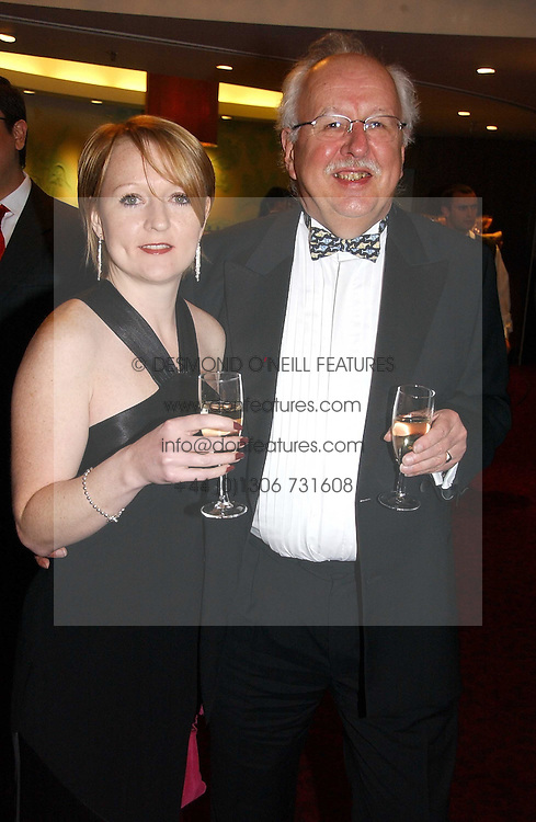 MICHAEL FISH the weather forcaster and his daughter ALISON FISH at the 10th Anniversary Asian Business Awards 2006 at the London Grosvenor Hotel Park Lane, London on 19th April 2006.<br /><br />NON EXCLUSIVE - WORLD RIGHTS