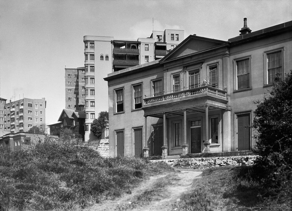 Elizabeth Bay House, Sydney, Australia, 1930