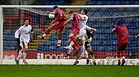 Photo: Alan Crowhurst.<br />Crystal Palace v Swindon Town. The FA Cup. 06/01/2007.<br />Palace's Shefki Kuqi (2nd L) heads home 1-0.