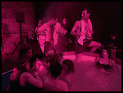 HOT TUBS, The Dark Side of Love, Valentine's Masked Ball. the Coronet Theatre, Elephant and Castle. London. 13 February 2015.