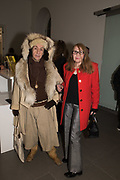 PHILIP SALLON, ELISABETH, Opening of Known Unknowns, Saatchi Gallery, Chelsea. London. 20 March 2018