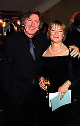 MR & MRS JAMES HERBERT he is the top selling thriller writer, at a fashion show in London on 3rd October 1999.MXB 7