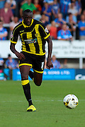 Burton Albion's Lucas Akins during the Sky Bet League 1 match between Burton Albion and Scunthorpe United at the Pirelli Stadium, Burton upon Trent, England on 8 August 2015. Photo by Aaron Lupton.