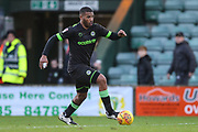 Forest Green Rovers Reuben Reid(26) runs forward during the EFL Sky Bet League 2 match between Yeovil Town and Forest Green Rovers at Huish Park, Yeovil, England on 8 December 2018.