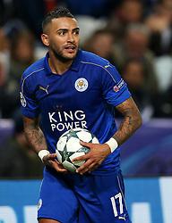 Danny Simpson of Leicester City  - Mandatory by-line: Matt McNulty/JMP - 22/11/2016 - FOOTBALL - King Power Stadium - Leicester, England - Leicester City v Club Brugge - UEFA Champions League
