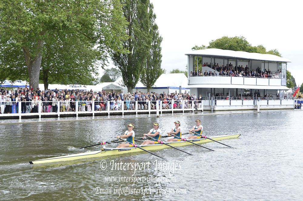 Henley, GREAT BRITAIN. Princess Grace Challenge cup. NRCE. AUS. winning the final at 2012 Henley Royal Regatta.  ..Sunday  15:08:32  01/07/2012. [Mandatory Credit, Peter Spurrier/Intersport-images]...Rowing Courses, Henley Reach, Henley, ENGLAND . HRR.
