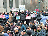 NY Immigration Coalition and Interfaith vigil & Jummah Prayer for Immigrant Communities