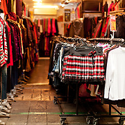 Clothing at Nanhua Tourist Night Market, Kaohsiung City, Taiwan