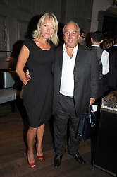 ELISABETH MURDOCH and SIR PHILIP GREEN at the Harper's Bazaar Women of the Year Awards 2008 at The Landau, The Langham Hotel, Portland Place, London on 1st September 2008.<br /> <br /> NON EXCLUSIVE - WORLD RIGHTS