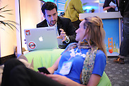 Dreamforce 2011, Salesforce.com's user and developer conference at the Moscone Convention Center in San Francisco held from August 30 to September 2, 2011. (© Photo by Jakub Mosur)