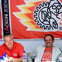 20090723: Ice Hockey - Press conference of HK Acroni Jesenice