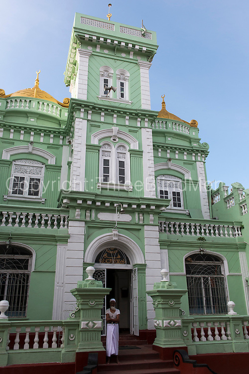 Mosque on Messenger Street, Colombo.