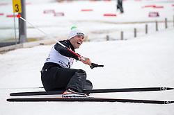 22.03.2014, Gschwandtkopf, Seefeld, AUT, 8. World Star Ski Event, Star Team for Children, Biathlon, im Bild Christof Innerhofer (Olympia Silber- und Bronzemedaillen Gewinner 2014) // during the Biathlon of Star Team for Children of 8th World Star Ski Event at the Gschwandtkopf course in Seefeld, Austria on 2014/03/22. EXPA Pictures © 2014, PhotoCredit: EXPA/ Johann Groder