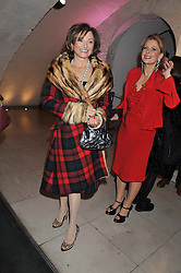 DORIT MOUSSAIEFF at a private view of 'Valentino: Master Of Couture' at Somerset House, London on 28th November 2012.