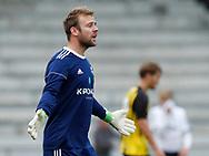 FODBOLD: Lasse Krogh (Vanløse) under kampen i Danmarksserien mellem Vanløse IF og Skjold Birkerød den 2. september 2017 i Vanløse Idrætspark. Foto: Claus Birch