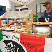 Food at the 2013 Fremont Fair.